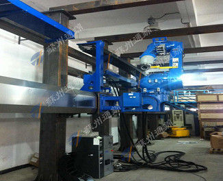 Wall Mounted Type Robot Rail System Steady Operation Flexible To Install